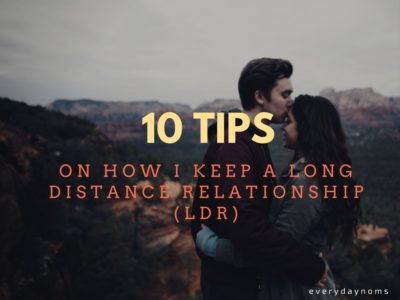 ways to keep a long distance relationship